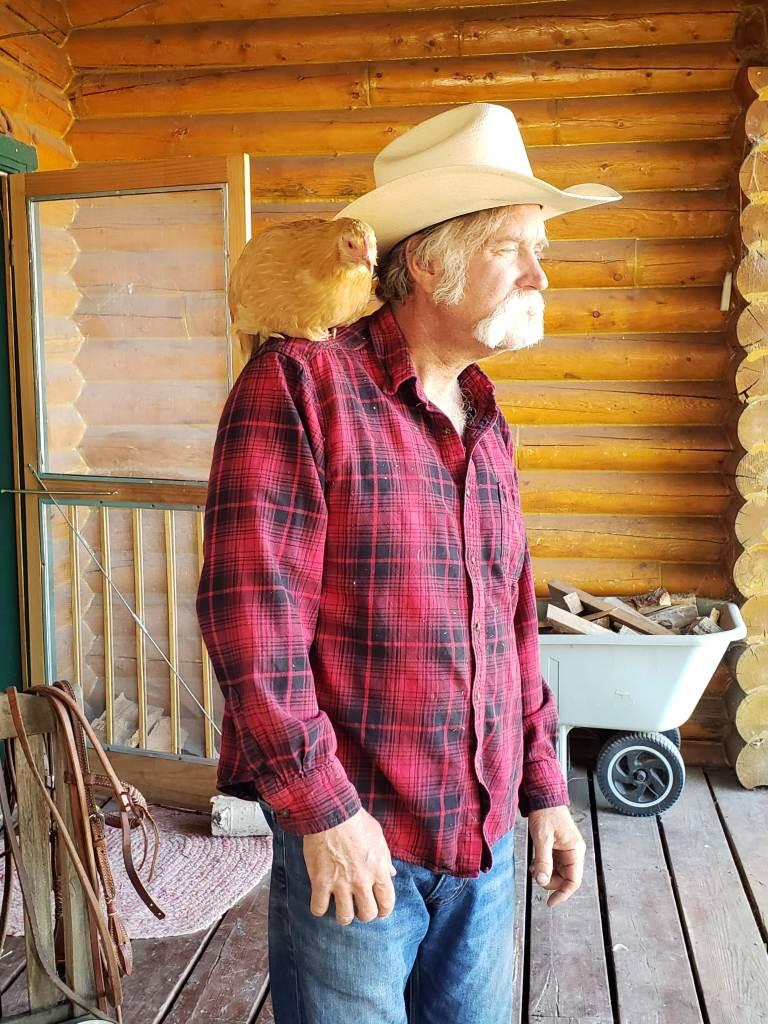Cowboy Jim with Chcken